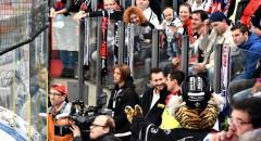 Trybuny podczas meczu Thomas Sabo Ice Tigers - Adler Mannheim