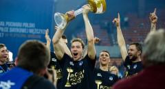 ZAKSA z Pucharem Polski: Dekoracja zwycięzców