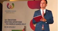 The World Games 2017: Konfrencja prasowa we wrocławskim Ratuszu