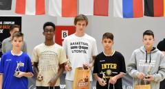 Central European Youth Basketball League: Ceremonia wręczenia nagród