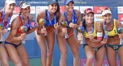 World Tour Warsaw: Dekoracja medalistek