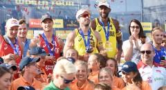 World Tour Warsaw: Dekoracja medalistów